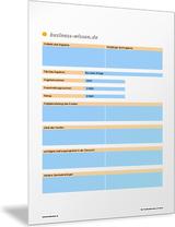 Formular Und Kalkulationsvorlage Für Angebote Excel Tabelle