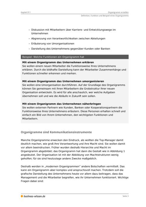 organigramm erstellen download business