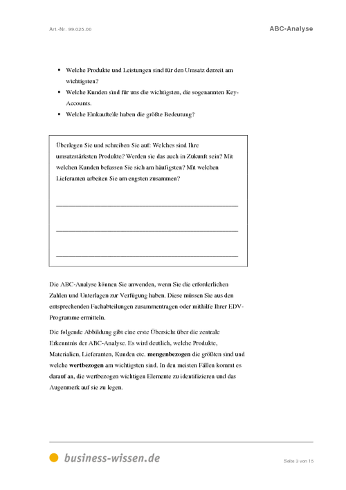 abc analyse download business