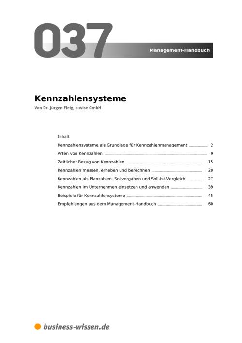 kennzahlensysteme management handbuch business. Black Bedroom Furniture Sets. Home Design Ideas