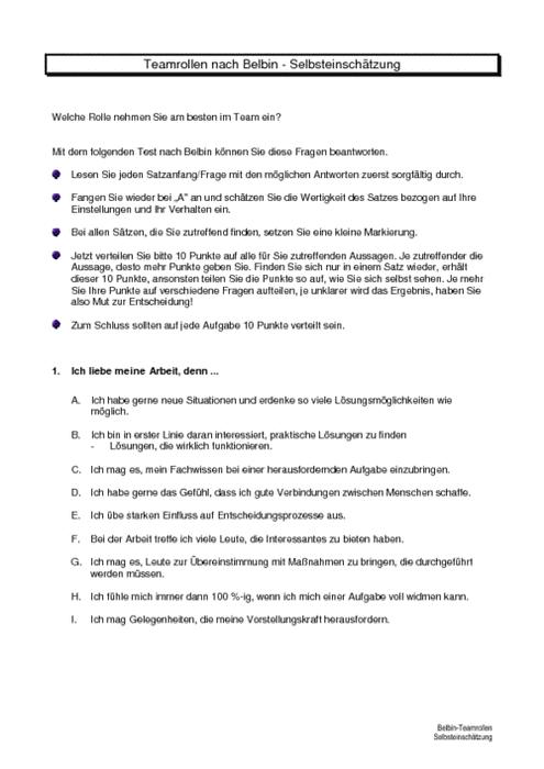 thesis belbin rollen Lees hier alles over de belbin test uitleg over de belbin test, de verschillende rollen, voorbeelden en hoe de belbin test in de praktijk te gebruiken is.