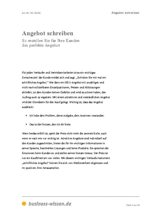 1 Etc 18 Eine Beispielrechnung Angebot Vorlage Anfordern 7
