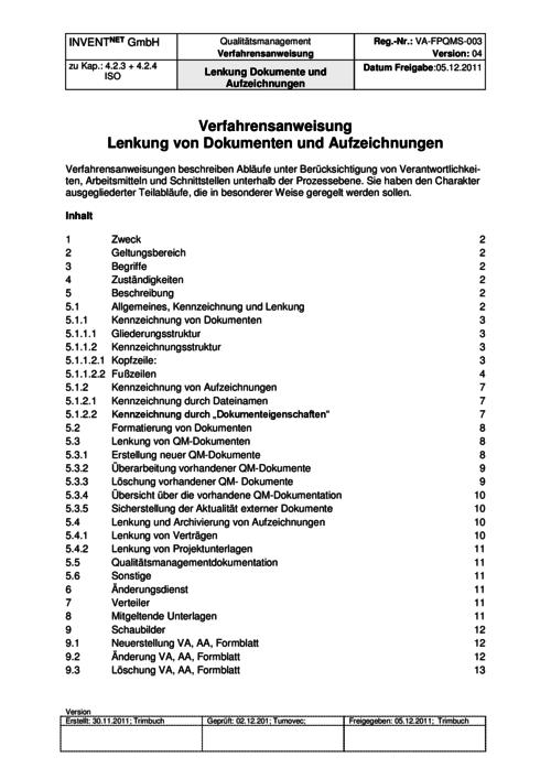 Qualitätsmanagement ISO 9001 – Management-Handbuch – business-wissen.de