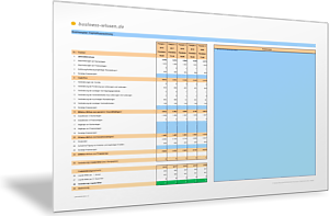 Einfachen Businessplan mit Planbilanz und Plan-GuV erstellen – Excel ...