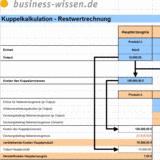 Herstellkosten Berechnen : herstellkosten bei kuppelproduktion berechnen excel tabelle business ~ Themetempest.com Abrechnung