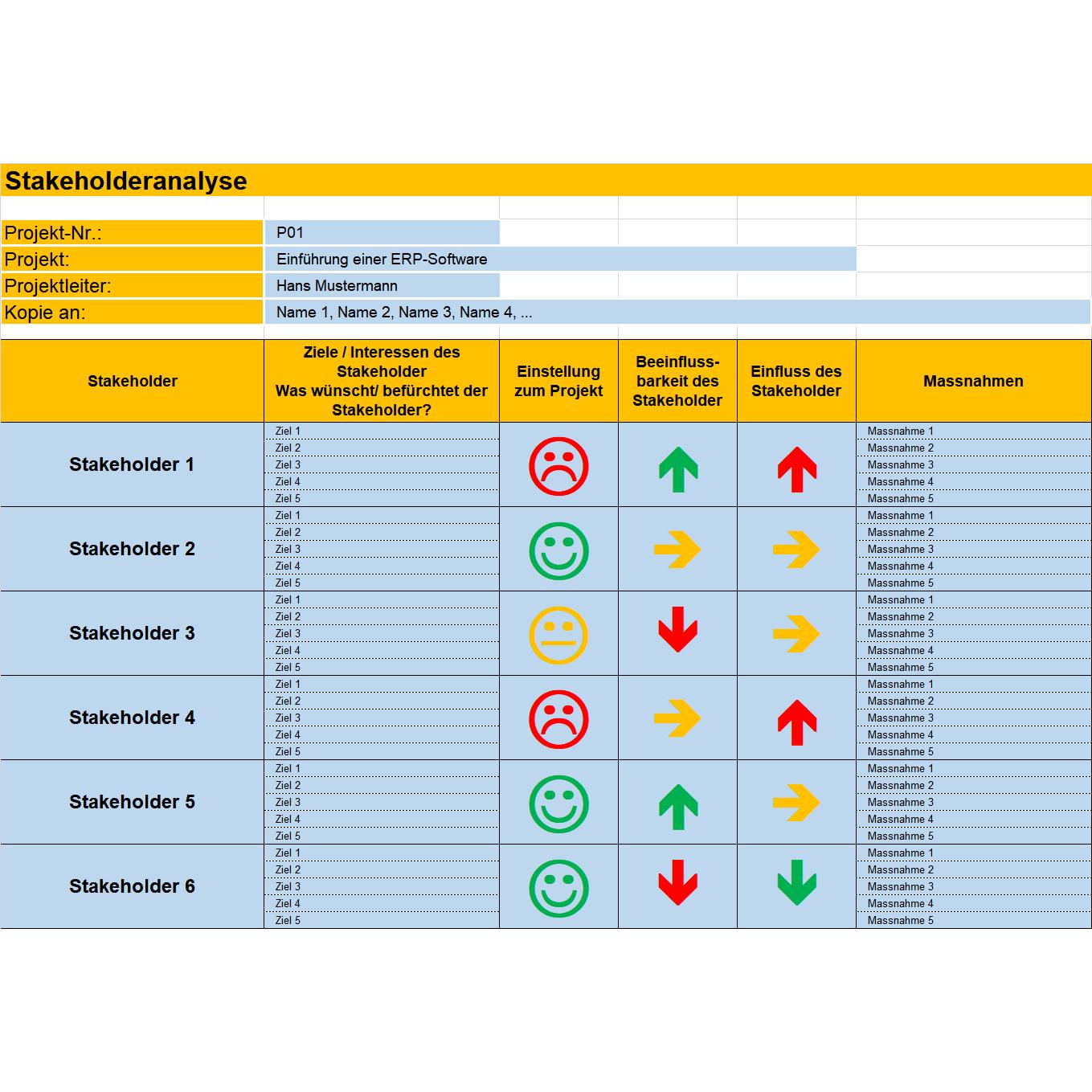 11 Vorlagen Fur Die Planung Und Verwaltung