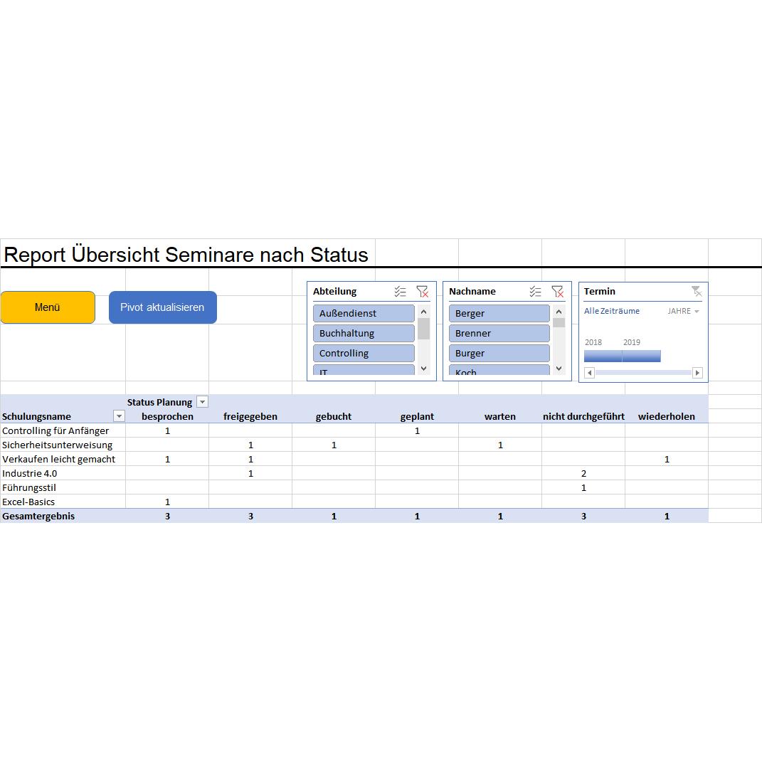 Excel Weiterbildung